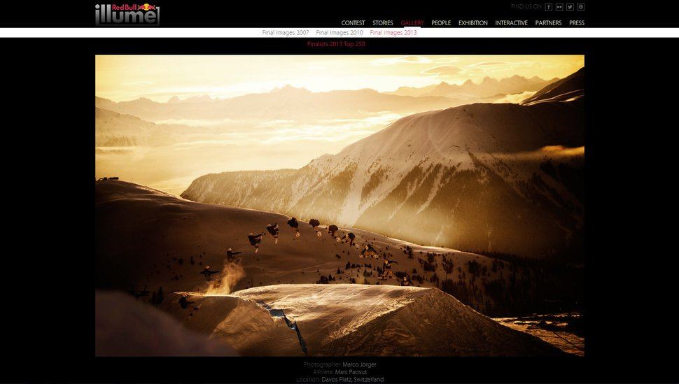 Red Bull Illume Top 250