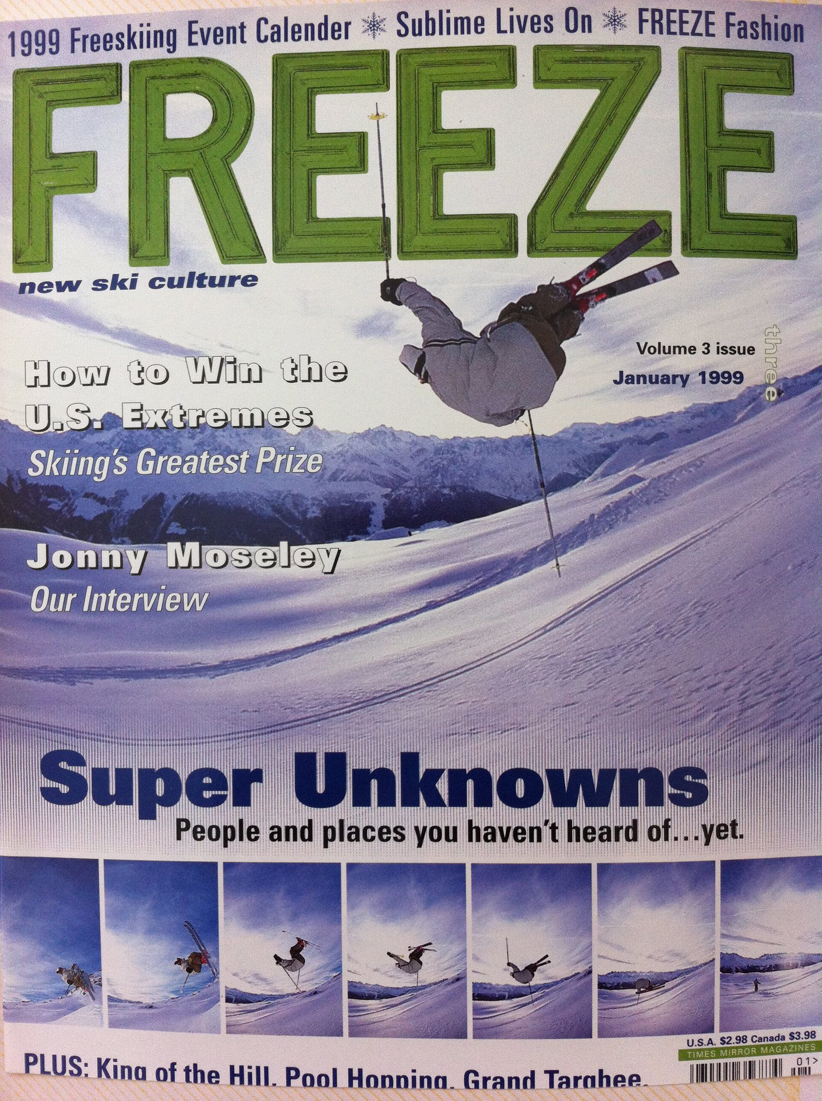 Freeze cover 1998