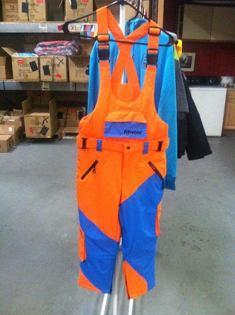 Orange n' Blue Pants