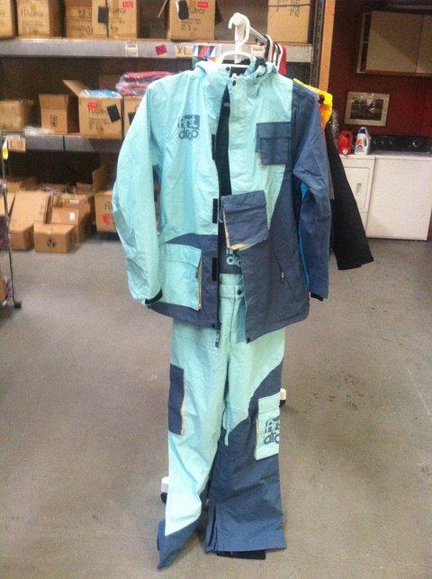 OG Blue Throwback Suit