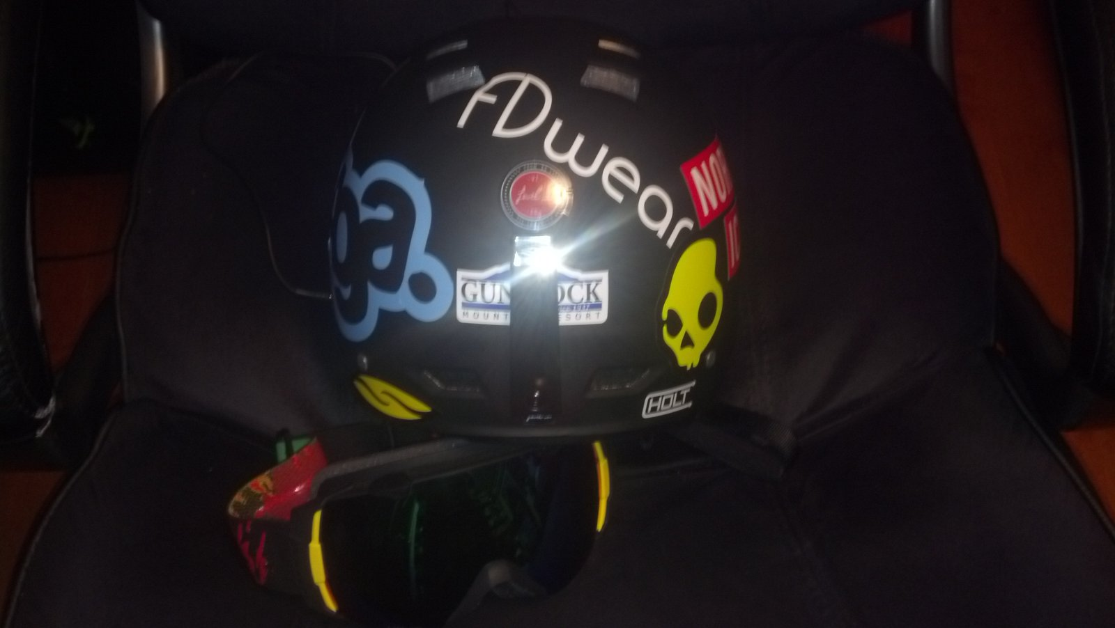 Helmet stickers 3