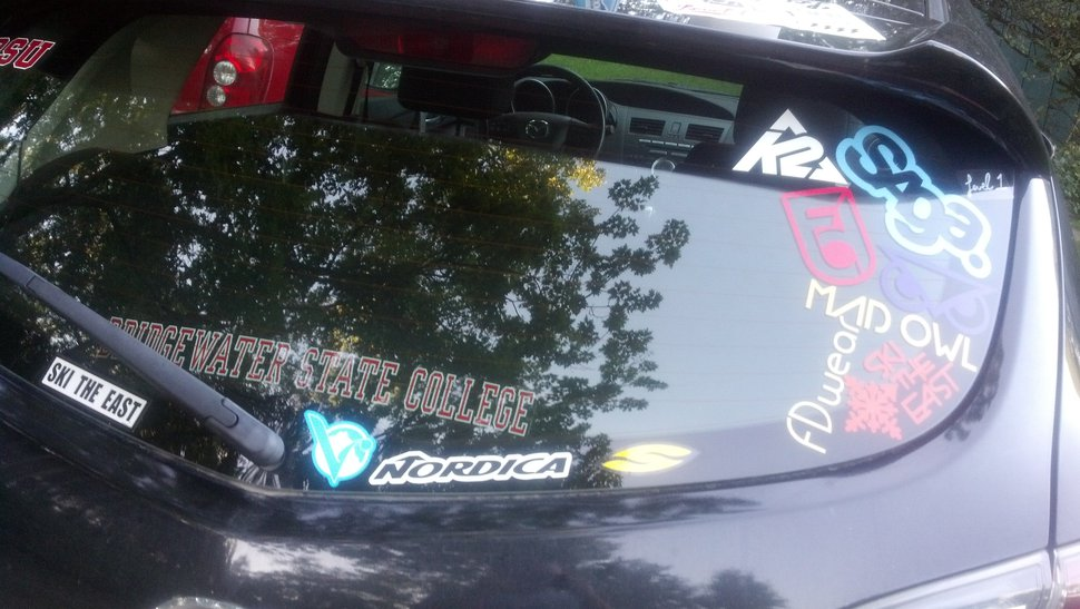 Car stickers!