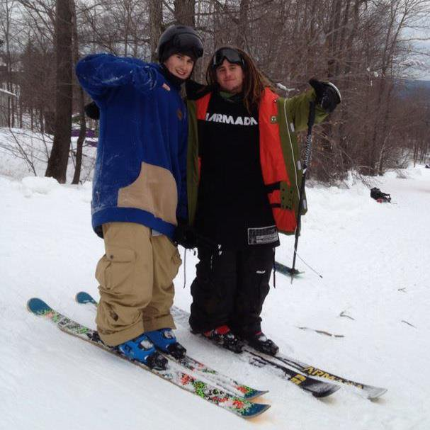 Skiing with Inspired Crew