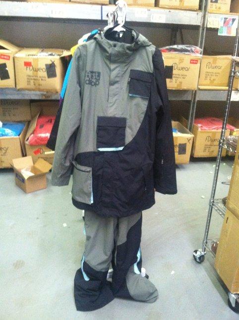 OG Black n' Grey Throwback Suit