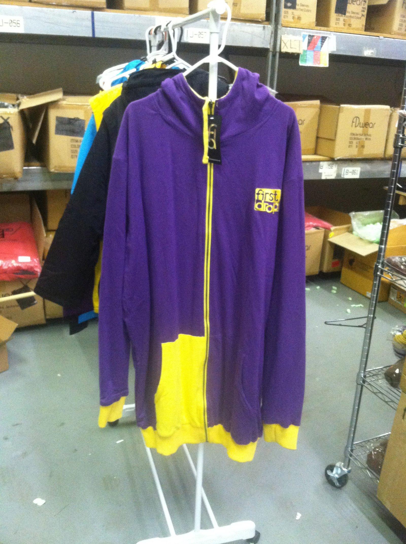 Purple n' Yellow Reversible