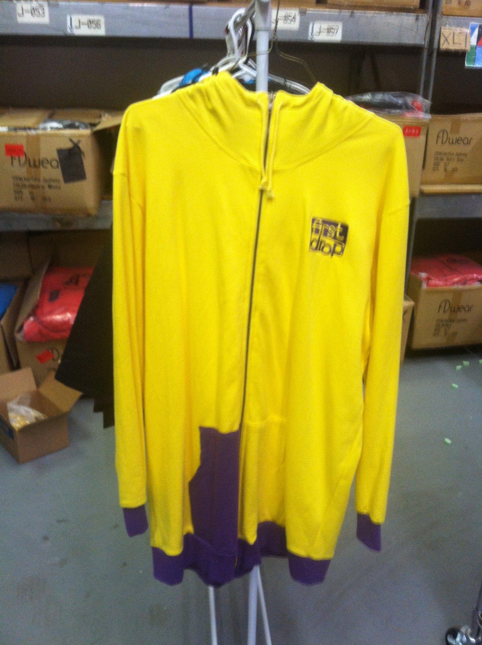 Yellow n' Purple Sweatshirt