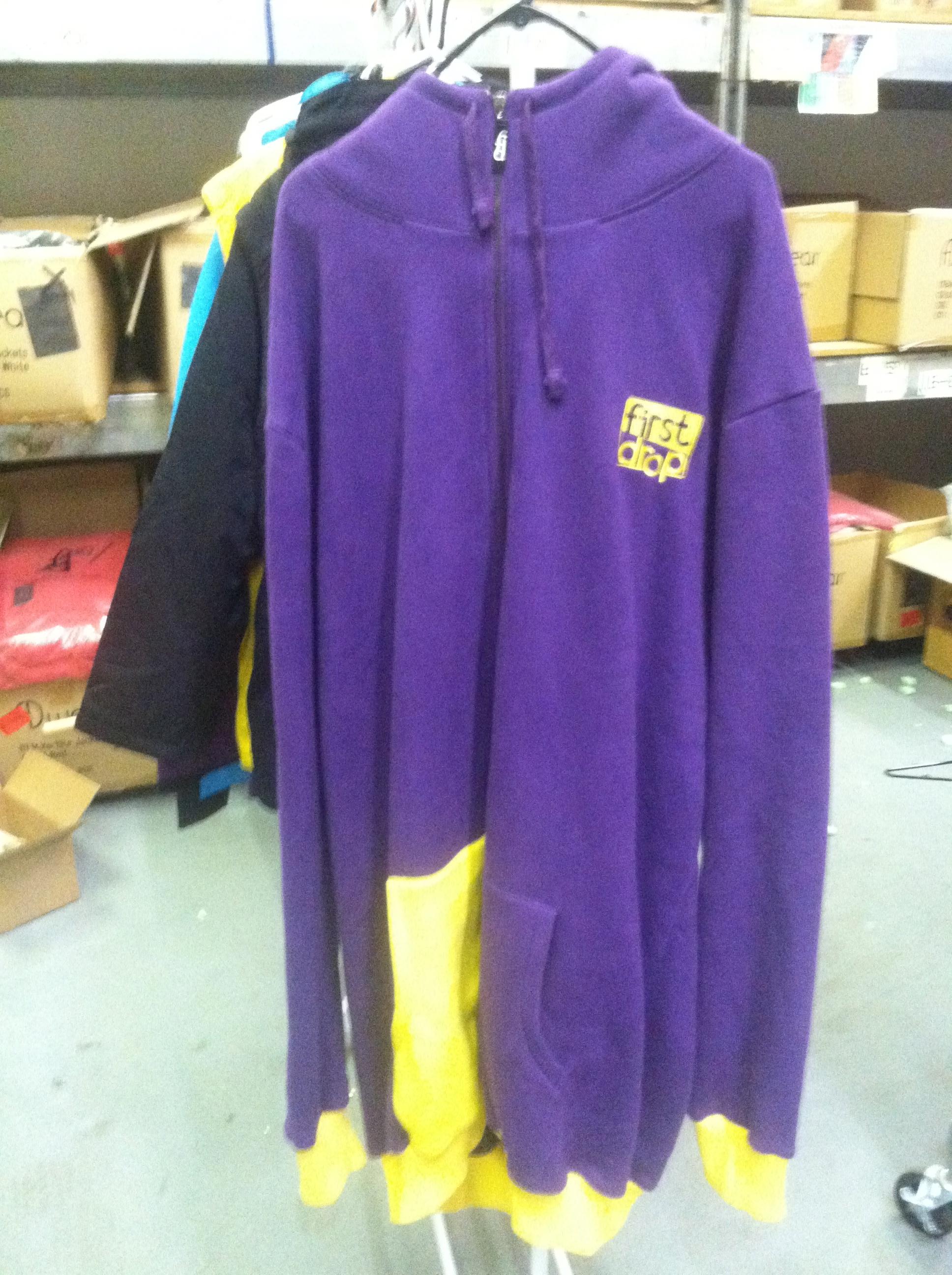 Purple n' Yellow Fleece Sweatshirt