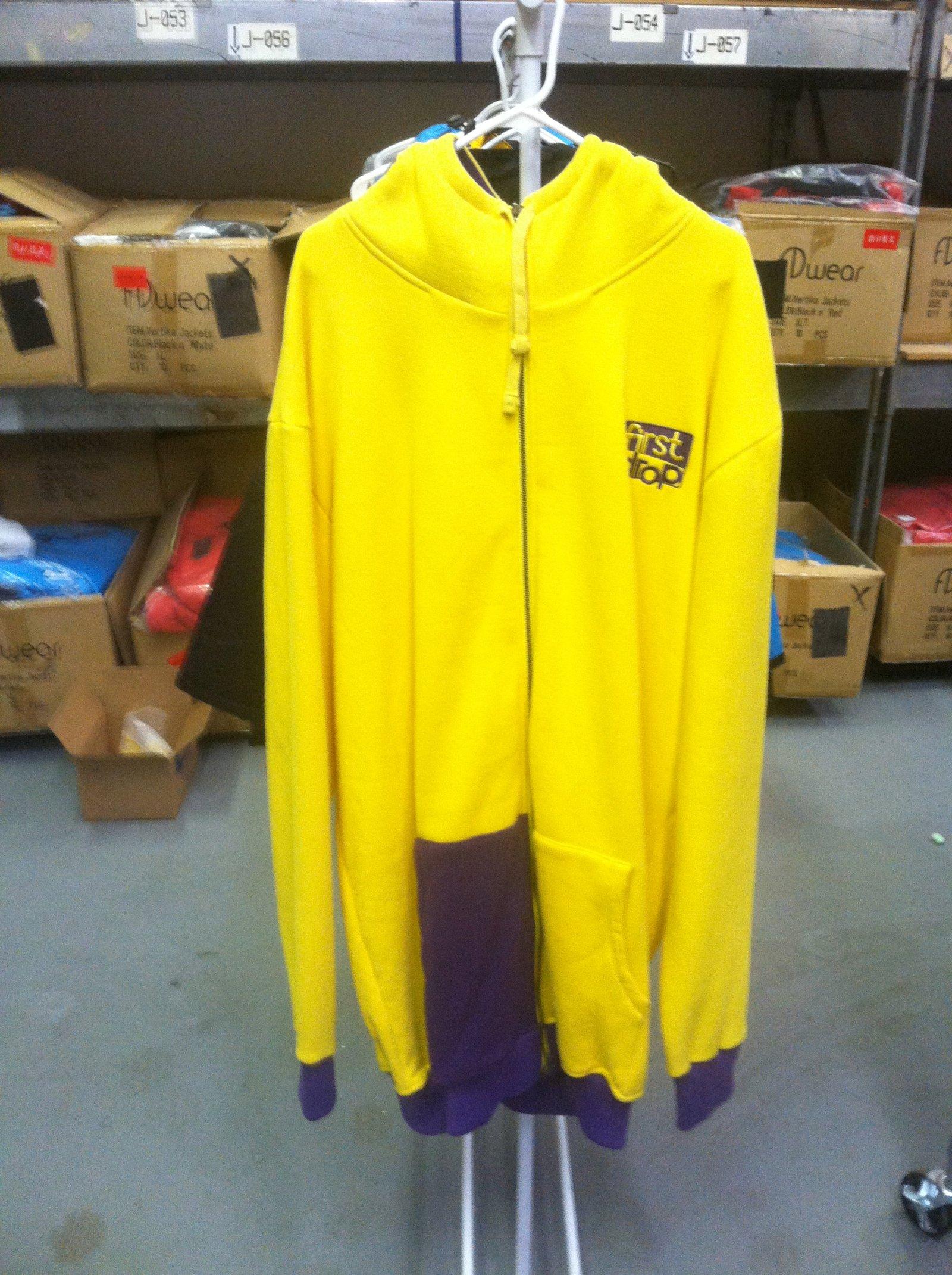 Yellow n' Purple Fleece Sweatshirt
