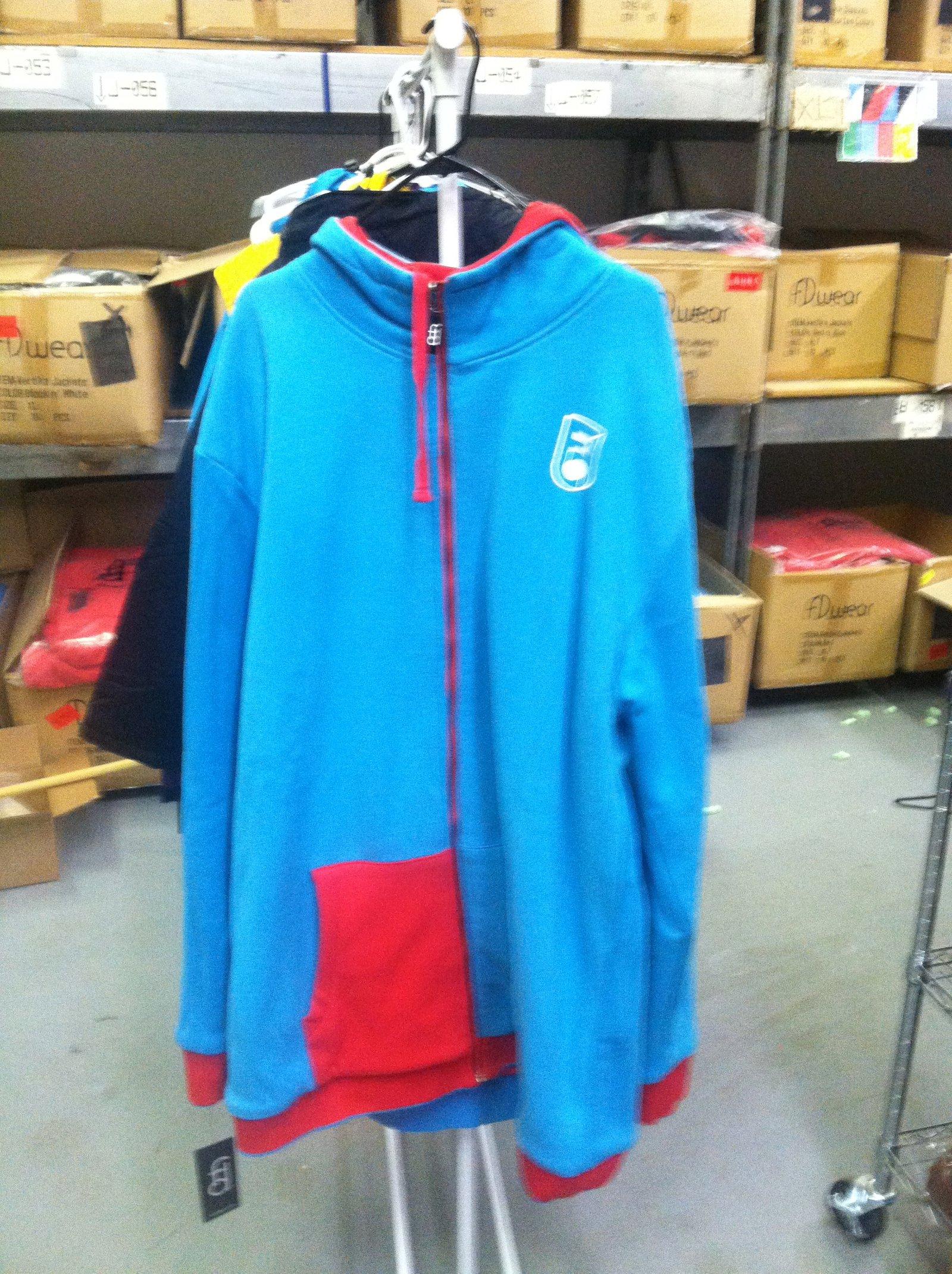 Blue n' Red Fleece Reversible