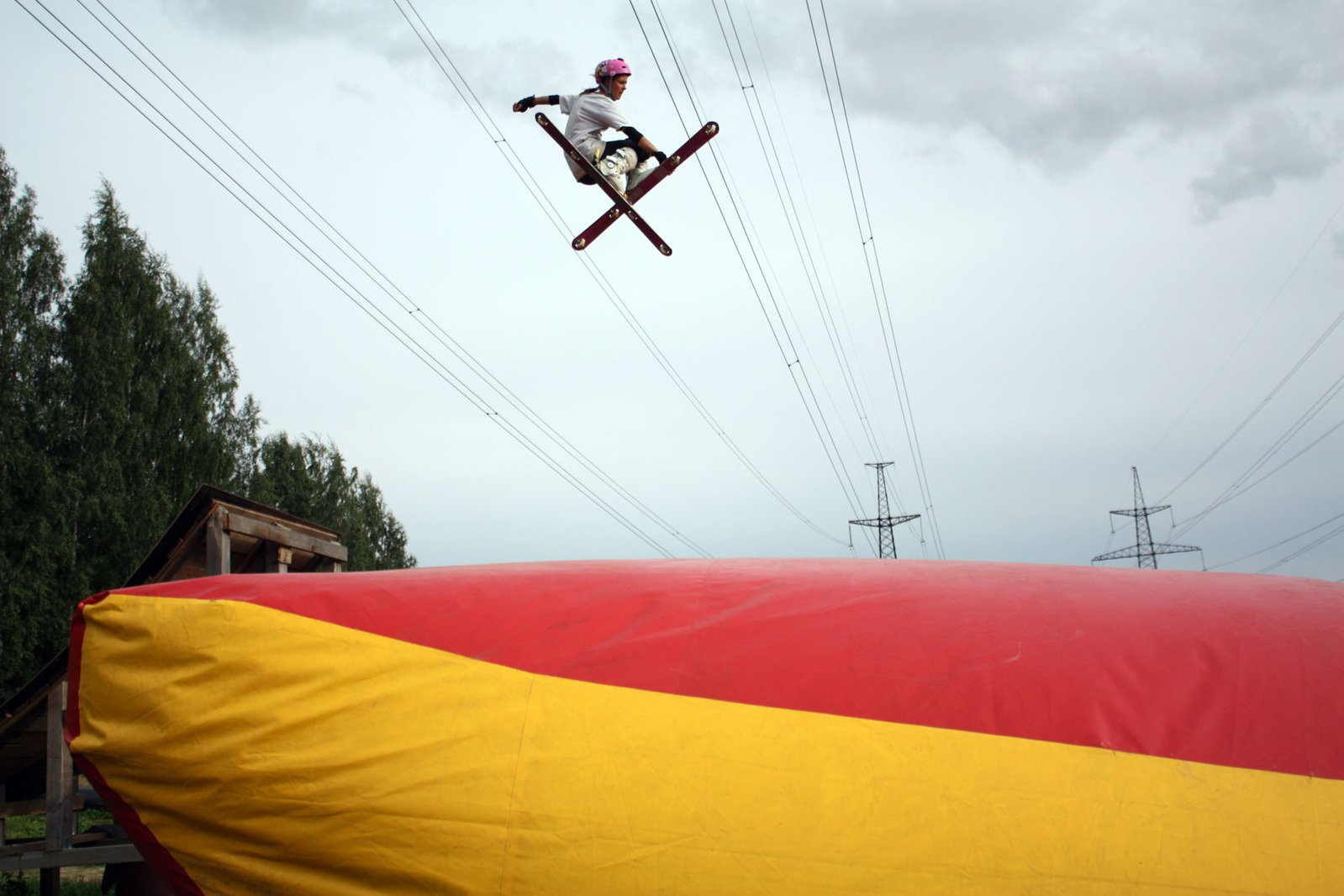 Try our handmade skill-ski 2!!! it's cool!