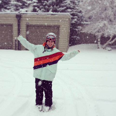 freshhhh snowww!