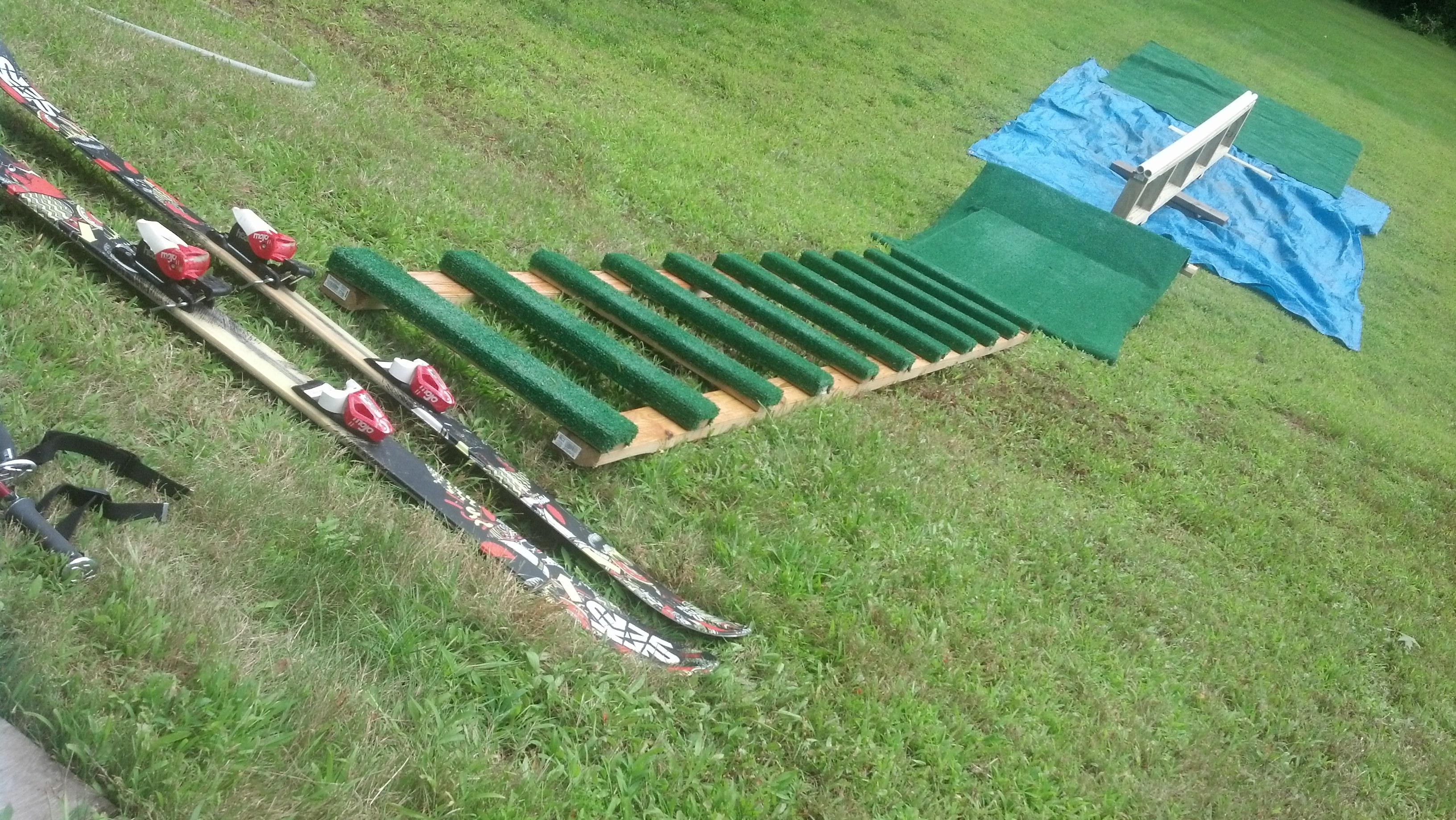 Backyard Rail setup, Improved!