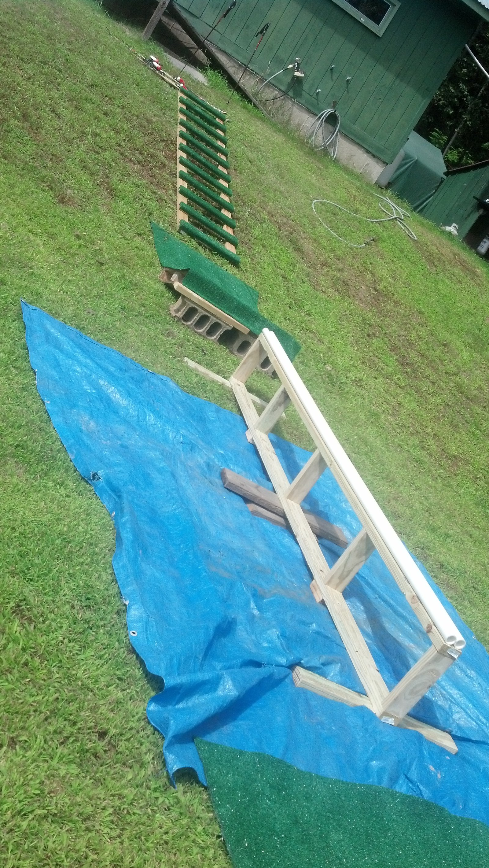 Backyard Rail setup, Improved