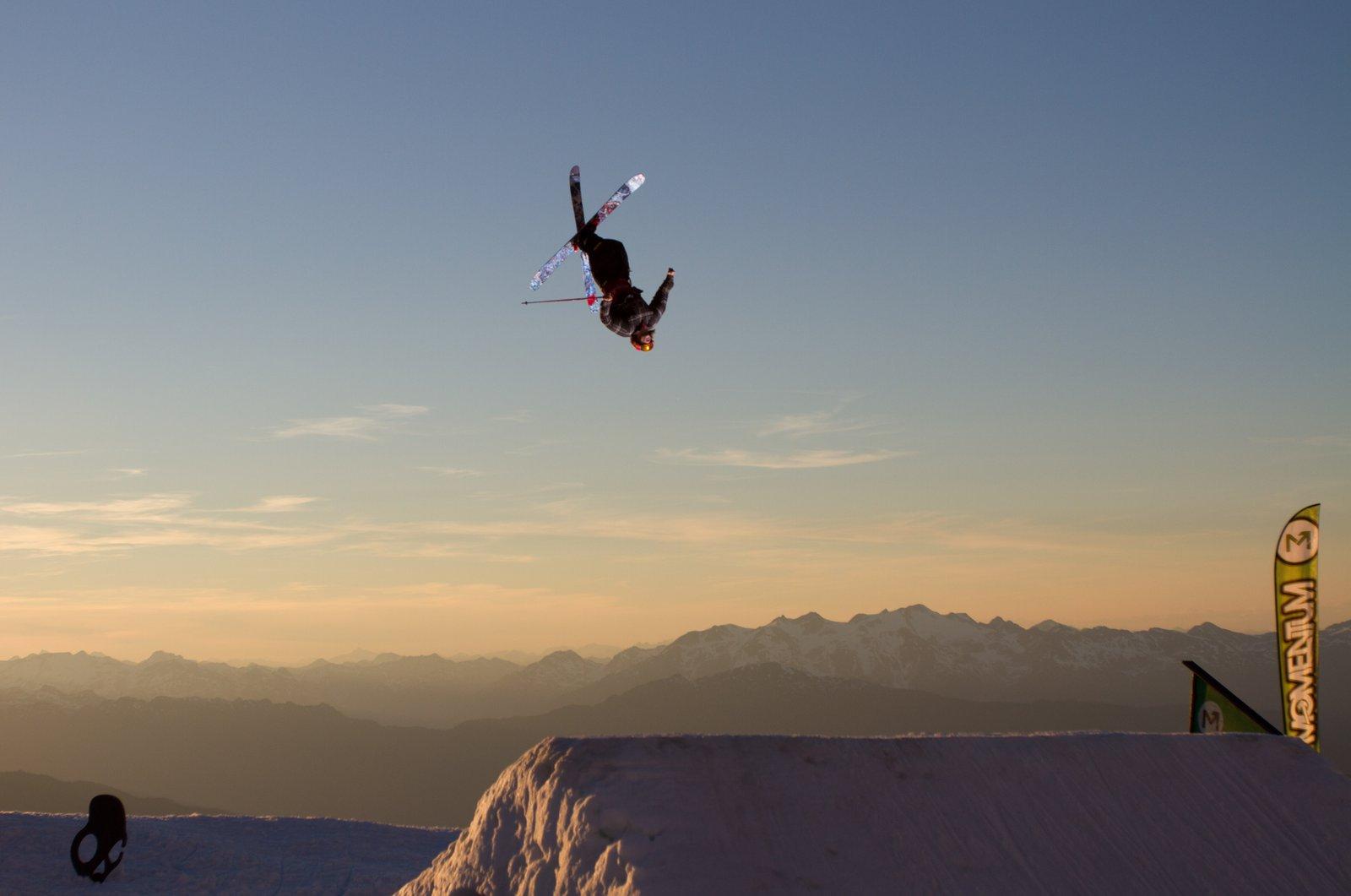 Rory Bushfield at sunset