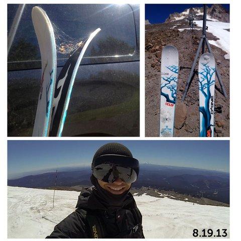 8.19.13 - Eric Pollard Back on Snow