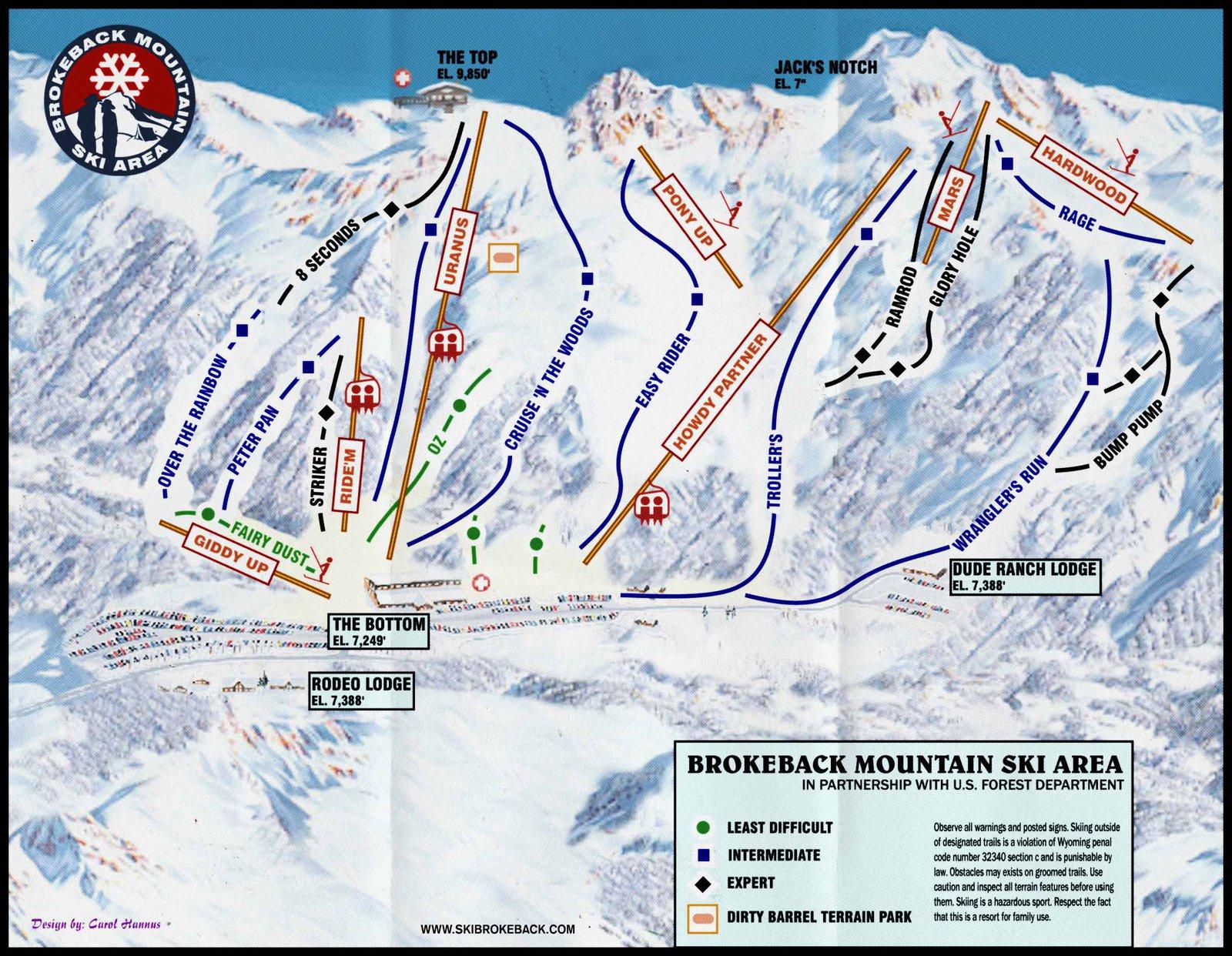 Ski Brokeback