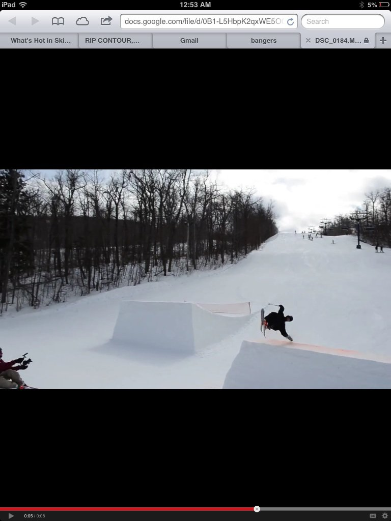 I miss skiing