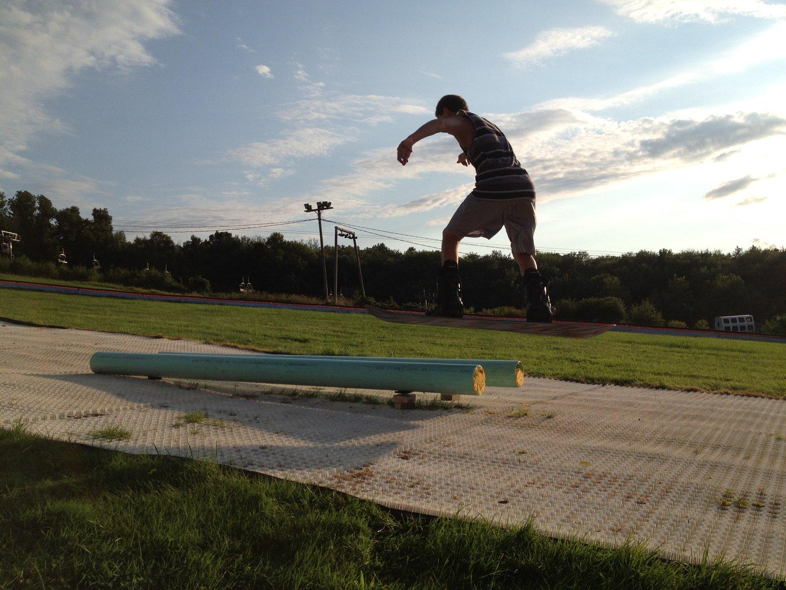 Summer Dual Pipes @ Ski Ward