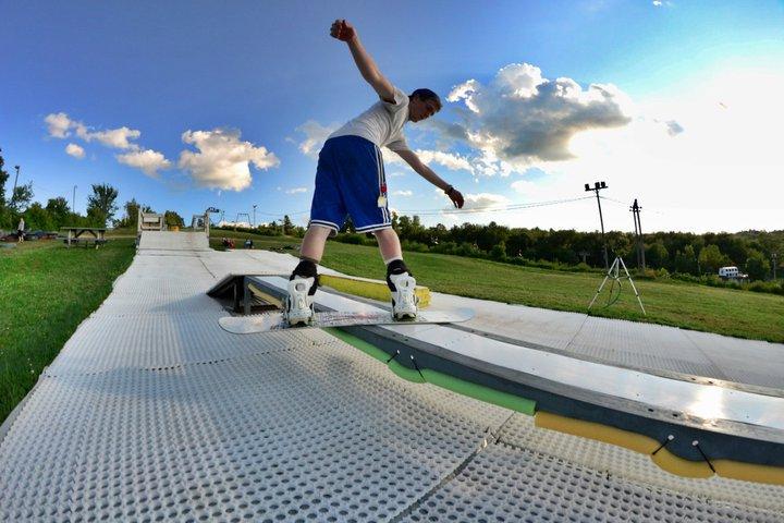 Summer Boarding @ Ski Ward