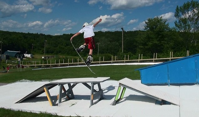 Summer Picnic Table Riding