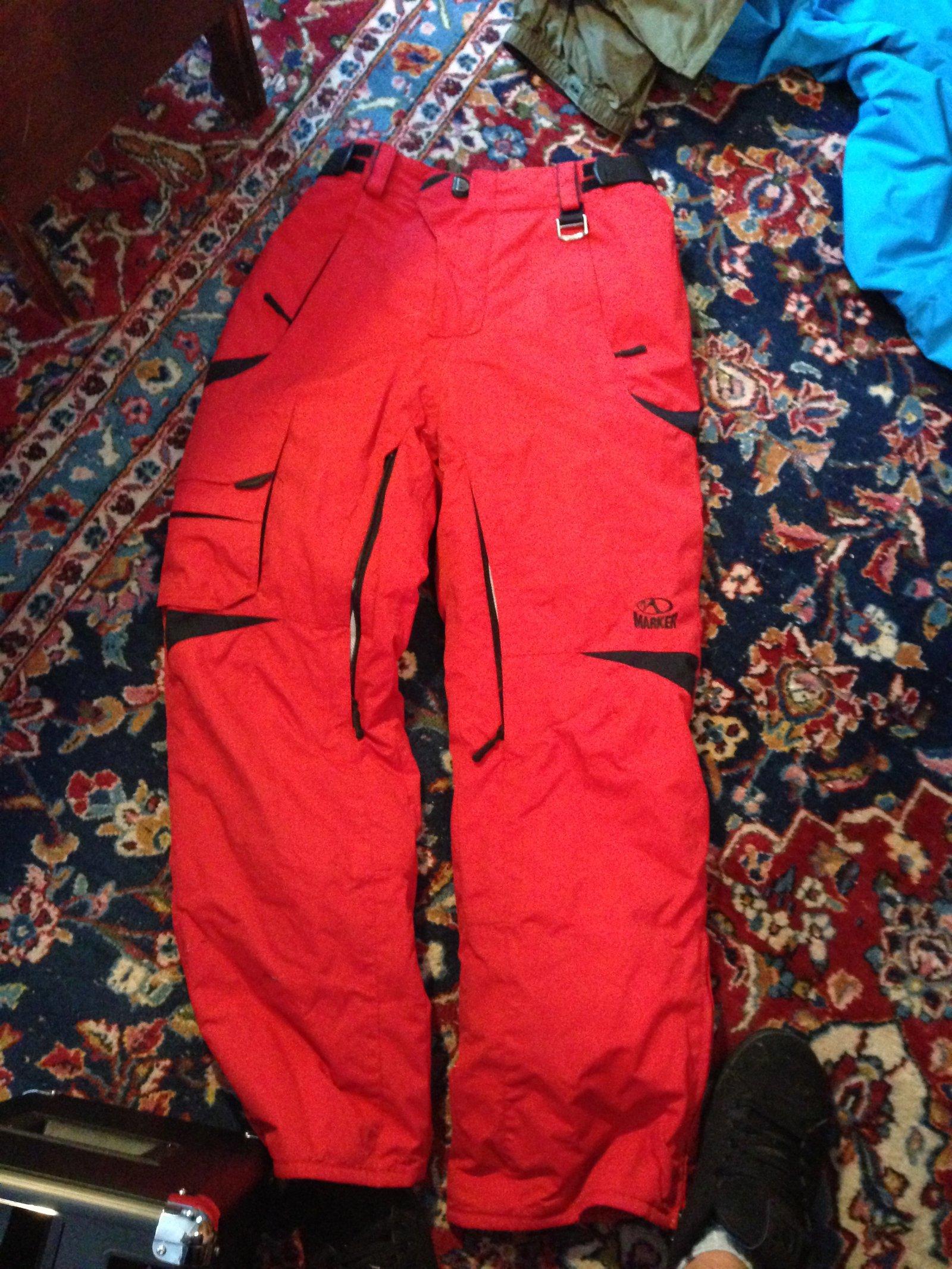 Marker pants for sale