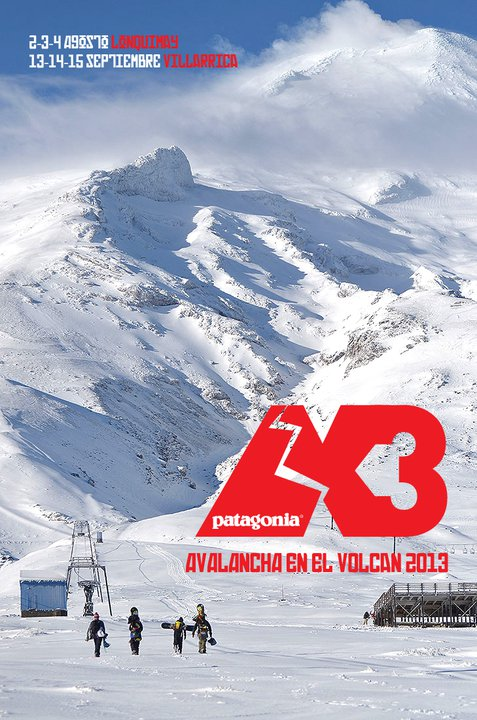 Adventure Ski Race in Chile: Avalancha en el Volcán