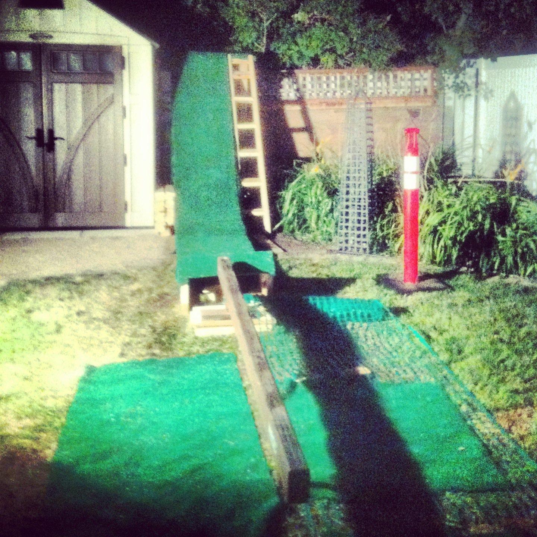 Backyard Rail Setup