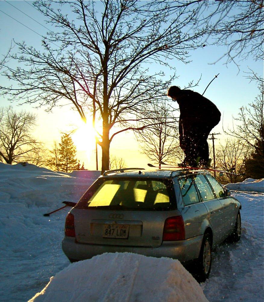 Will sliding the Audi
