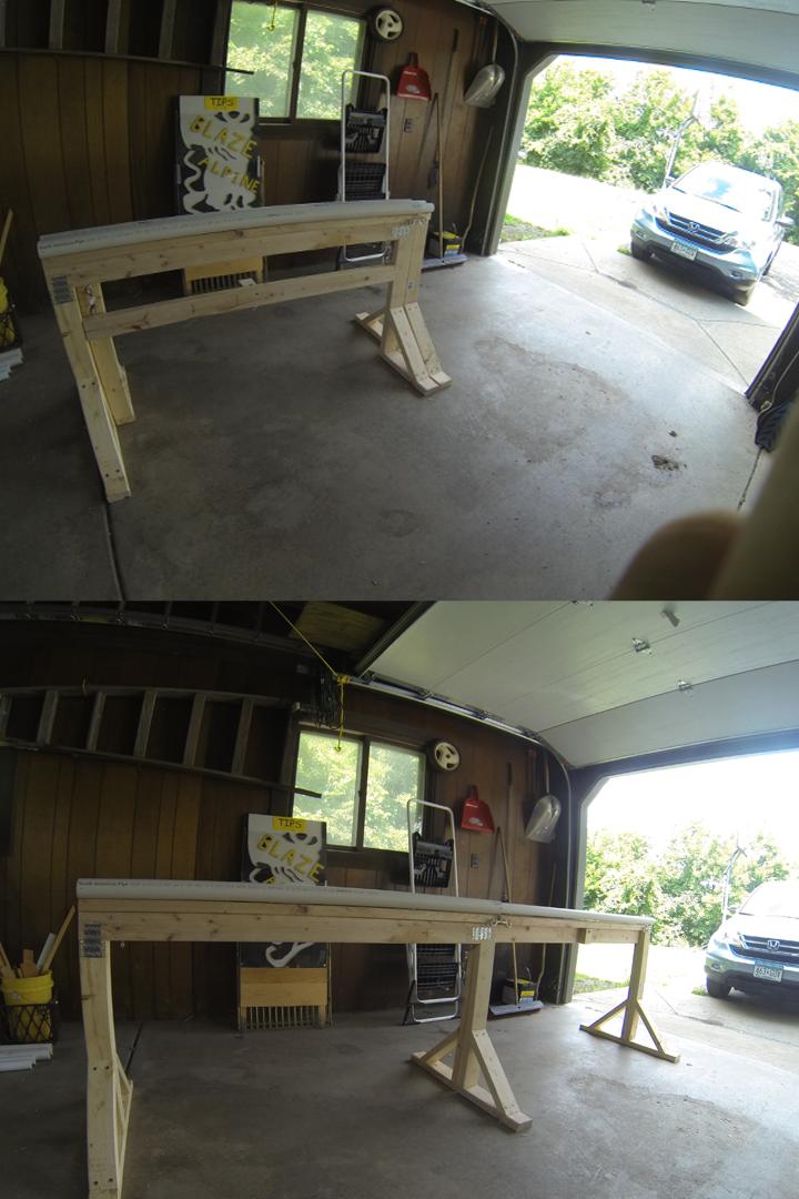 extendable backyard rail
