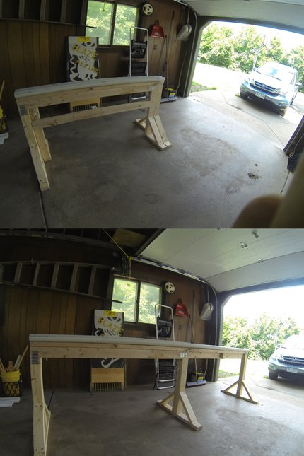 extendable backyard rail