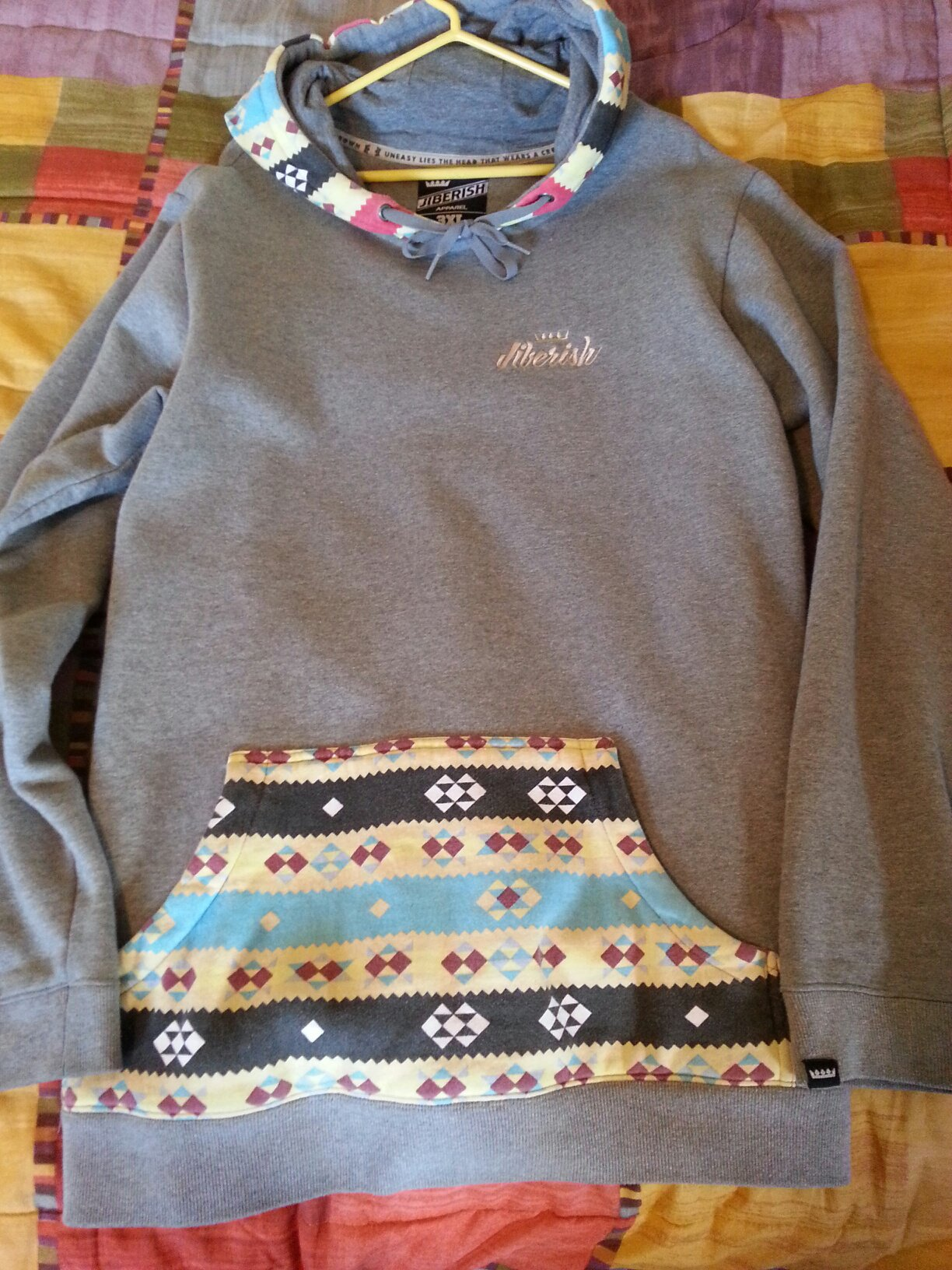 Jiberish hoodie 3XL