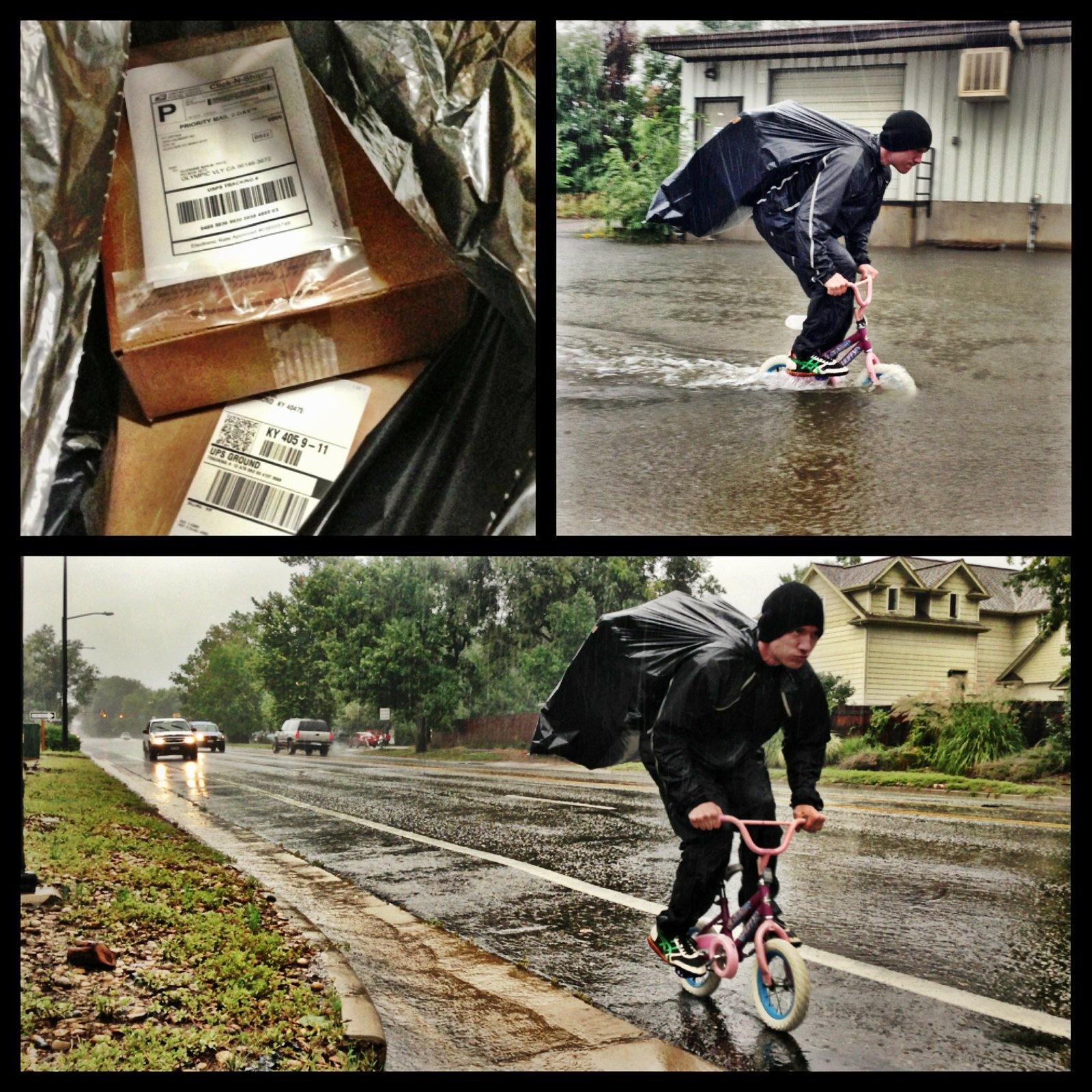 Fighting through the flood to get orders out