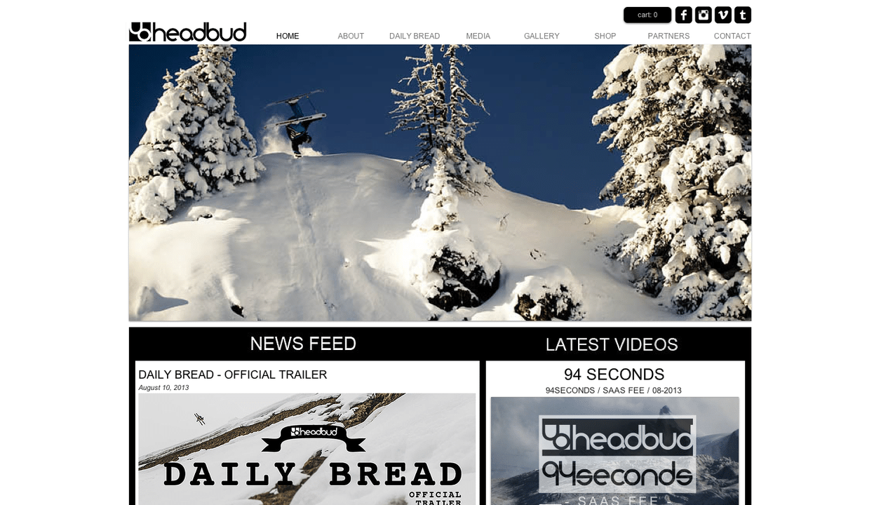 headbud.com / new website online