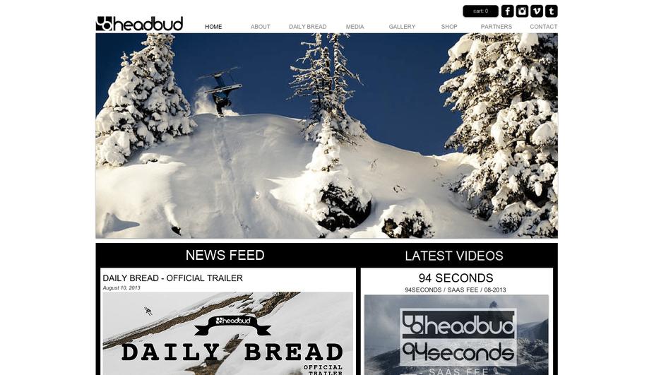 headbud.com / new website online