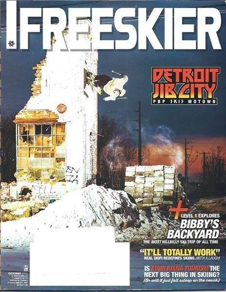 Max Morello Freeskier Cover