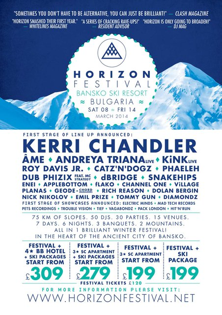 Horizon Festival Shaping Up To Be One of The Best Snow Festivals For 2014