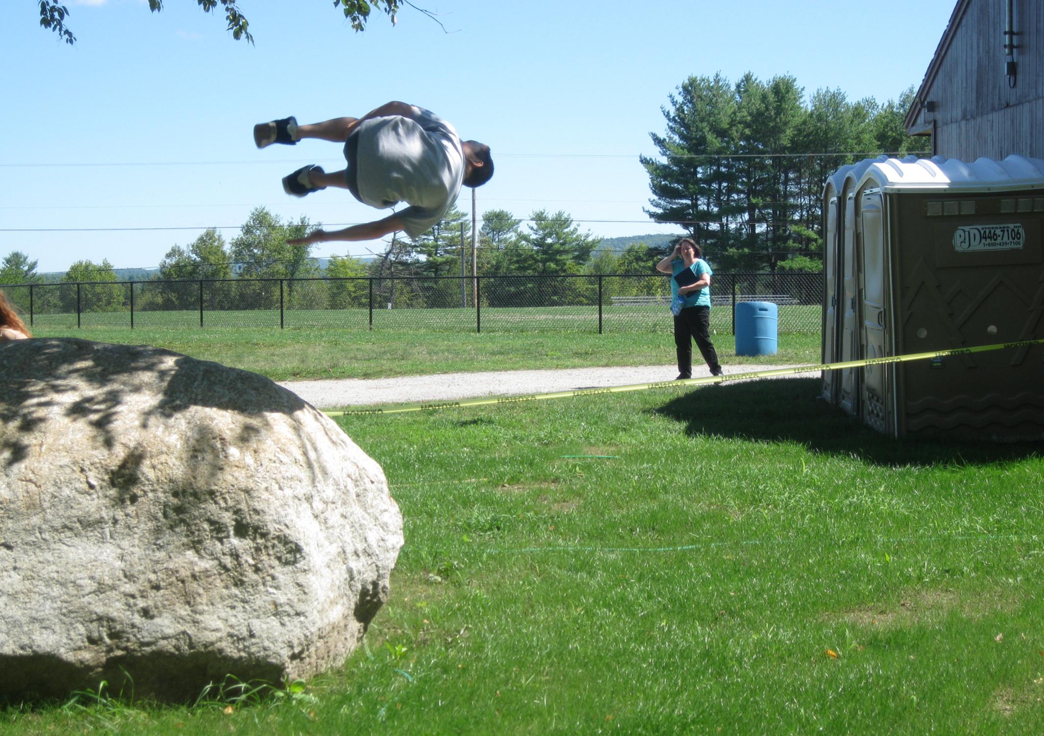 School Yard Flipping