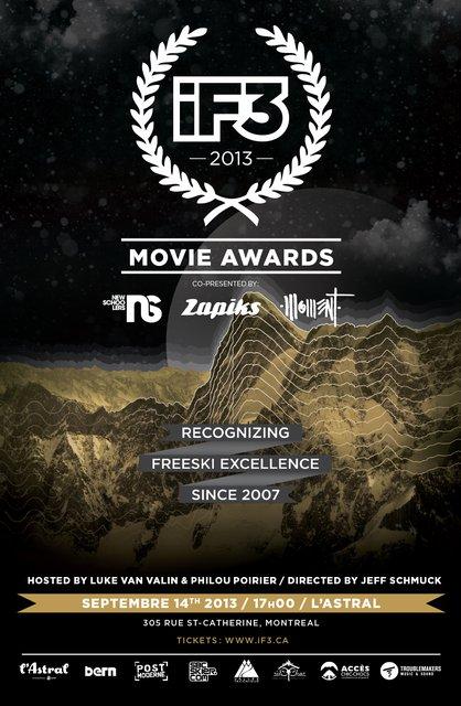 iF3 Movie Awards Montreal 2013