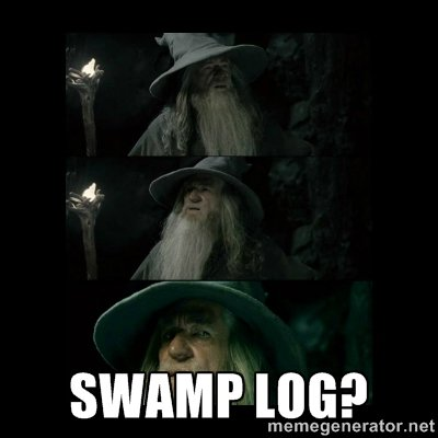 Swamp log?