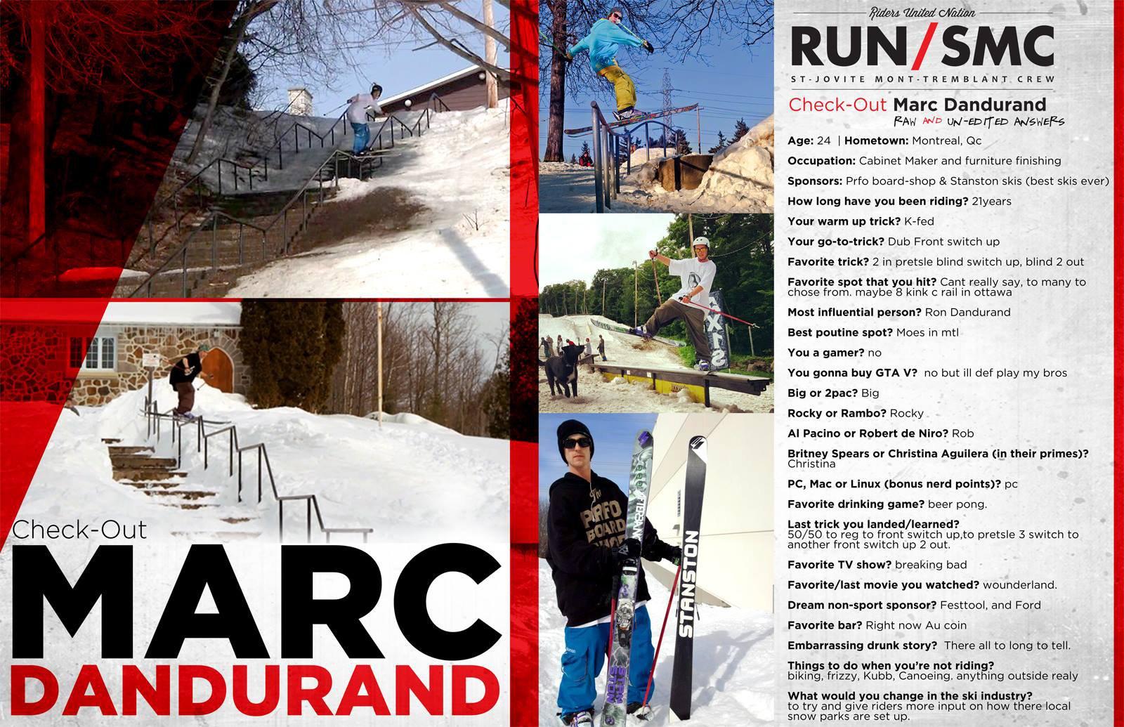Marc Dandurand Interview