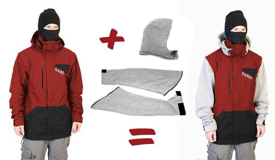 Change it up with the Switch Jacket.