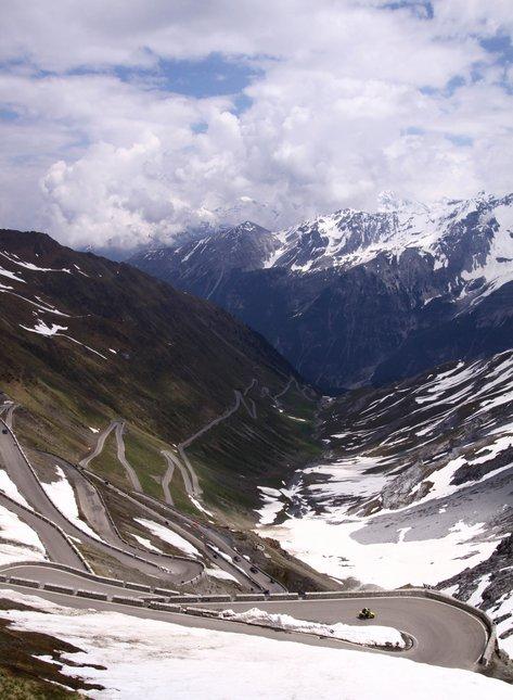 Stelvio Glacier Insane Switchbacks