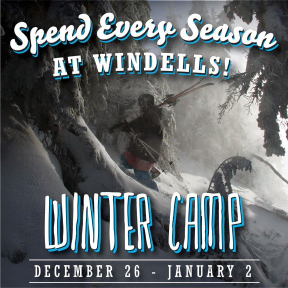 Windells Winter Camp, December 26th to January 2nd