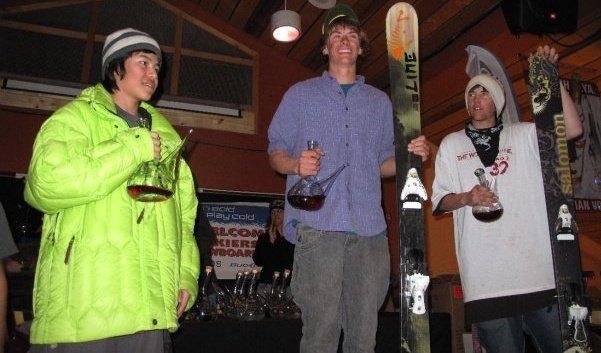 taos podium 2009