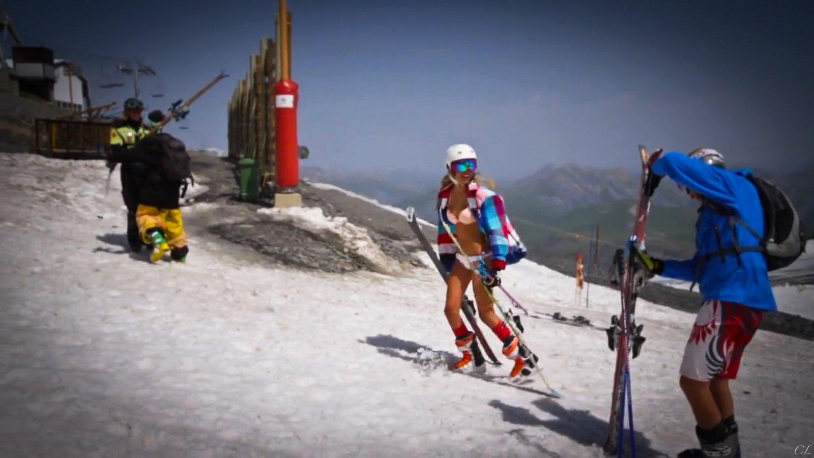 Summer Skiing in 2Alpes