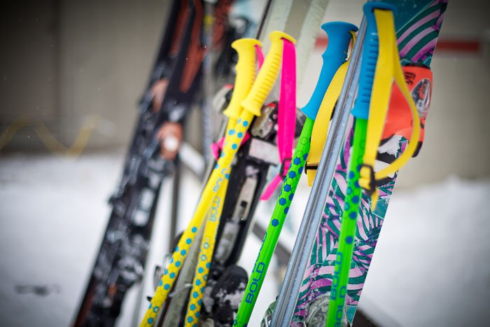 BOLD Custom Ski Poles
