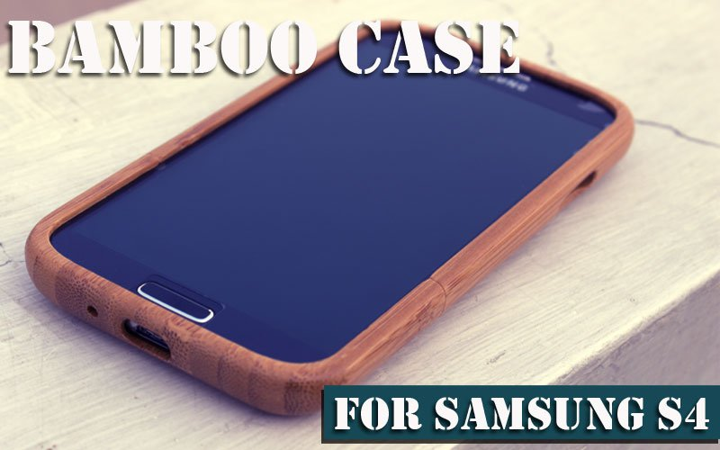 Wooden Case For S4