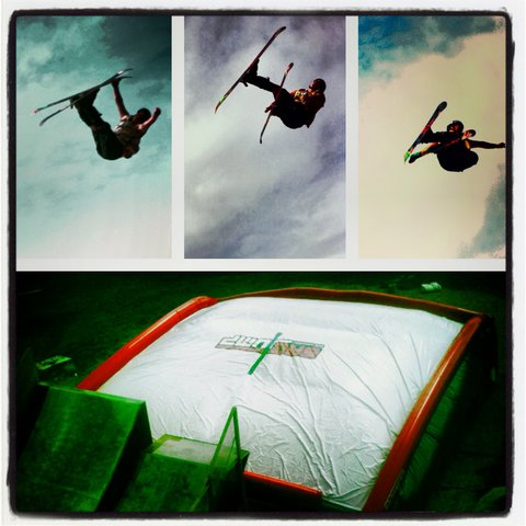 WV Air Bag Jump