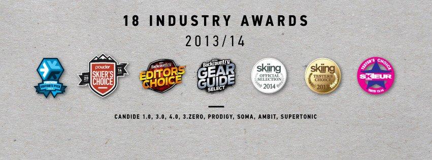 18 Industry Awards