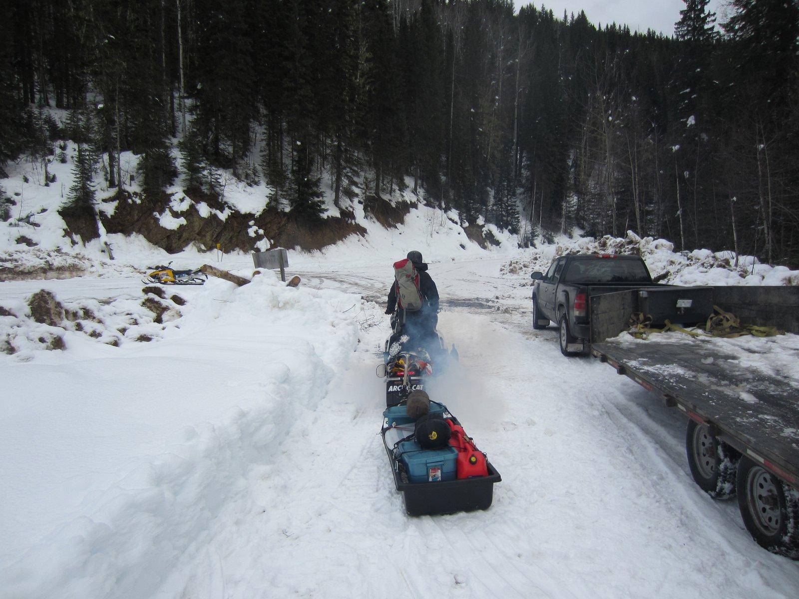 Sled wagon